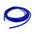 Podtlaková silikonová hadice HPP 6,3mm - 1 metr - modrá