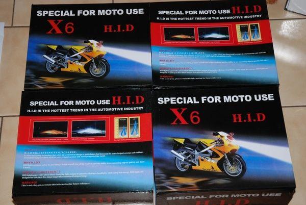 Přestavbová xenon sada pro motocykl HID H4