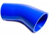 Silikonová hadice HPP koleno 45° 76mm