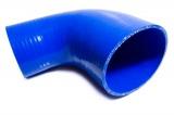 Silikonová hadice HPP redukční koleno 90° 63,5 > 76mm