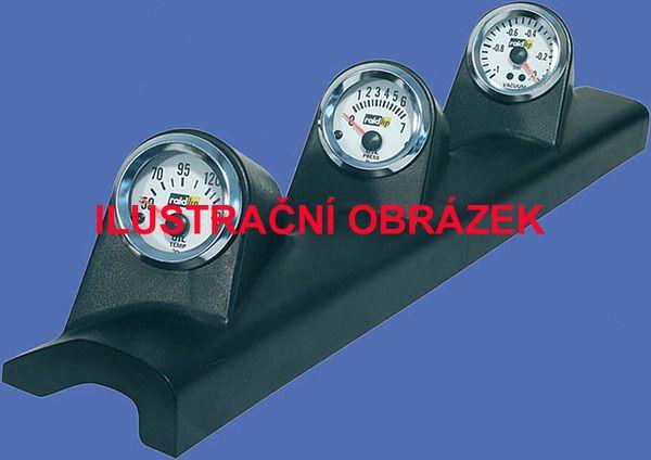 Držák budíků Opel Astra G (98-04) - 3x budík 52mm Raid