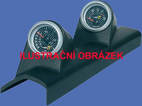 Držák budíků Peugeot 205 (83-98) - 2x budík 52mm Raid