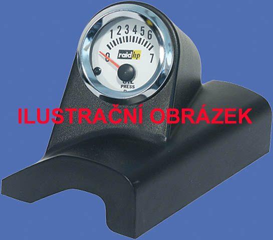 Držák budíků Peugeot 206 (98-12) - 1x budík 52mm Raid