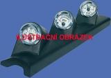 Držák budíků Seat Ibiza 6L / Cordoba 6L (02-09) - 3x budík 52mm