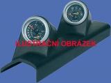 Držák budíků VW Corrado (88-95) - 2x budík 52mm