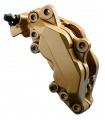 Sada Foliatec na brzdová prasátka (barva na brzdy) - zlatá (prestige gold metallic)
