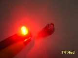 LED palubní deska Neo Wedge T4 červená