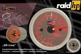 Přídavný budík Raid SR-Line - teplota výfukových plynů EGT