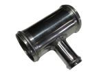 Hliníková (Alu) trubka T kus - průměr 102mm (4 palce) - 25mm - délka 100mm