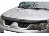 Plexi lišta přední kapoty Mitsubishi Outlander II
