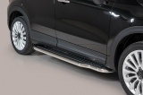 Boční nerezové nášlapy Fiat 500 X