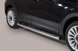Nerez boční nášlapy se stupátky Fiat 500 X