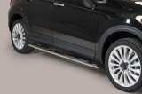 Nerez boční oválné nášlapy Fiat 500 X