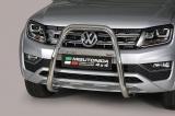 Nerezový přední ochranný rám 63mm - vysoký Volkswagen Amarok V6