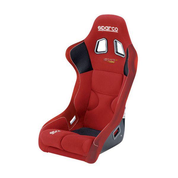 Sportovní sedačka Sparco Evo III (XL) laminát - červená