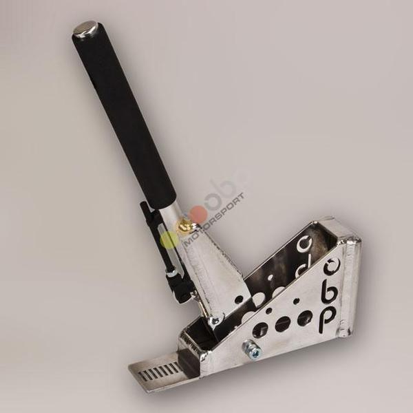 Hydraulická ruční brzda OBP Pro-Spec - úhel 45°- kulatá s aretací (bez brzd. válce)