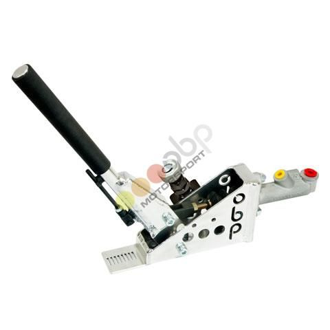 Hydraulická ruční brzda OBP Pro-Spec - úhel 45° - kulatá s aretací (s brzd. válcem a regulátorem)