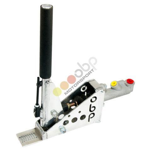 Hydraulická ruční brzda OBP Pro-Spec - vertikální - kulatá s aretací (s brzd. válcem)
