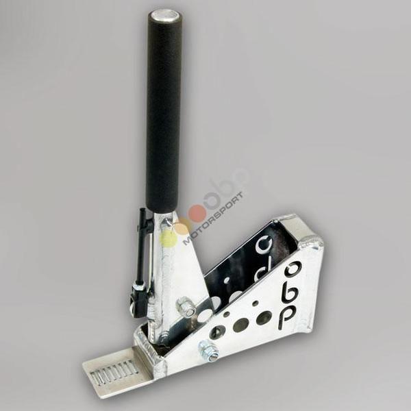 Hydraulická ruční brzda OBP Pro-Spec - vertikální - kulatá s aretací (bez brzd. válce)