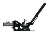 Hydraulická ruční brzda OBP - úhel 45° - kulatá s aretací (s brzd. válcem a regulátorem)