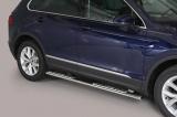 Nerez boční designové nášlapy Volkswagen Tiguan II