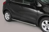 Nerez boční oválné nášlapy Opel Mokka / X