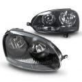 Přední světla s Angel Eyes Volkswagen Golf V
