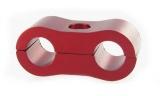 Separátor na vedení - průměr 2x 6,4mm - červený