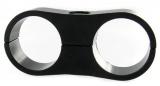 Separátor na vedení - průměr 2x 25,4mm - černý