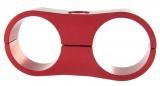 Separátor na vedení - průměr 2x 25,4mm - červený