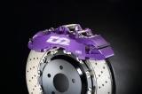 Přední brzdový kit D2 Racing pro Audi A1 8X 1.4 TFSI (11-), 8-pístkové brzdiče, plovoucí kotouče 380x32mm