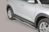 Nerez boční designové nášlapy Hyundai Tucson III