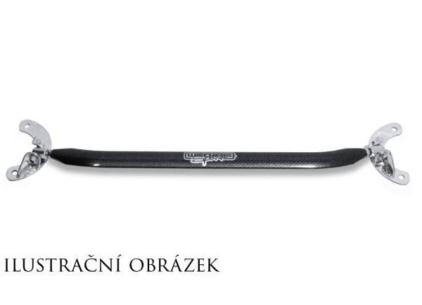 Wiechers přední horní alu rozpěrná tyč Racingline Carbon look pro Opel Vectra C Caravan 1.9CDTi (05-08)