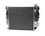 Hlinikový závodní chladič Jap Parts Jeep Wrangler YJ / TJ s motory Chevy V8 (87-06)