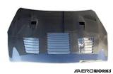 Karbonová kapota Aeroworks Nissan GT-R R35 (08-) - GT-1 style