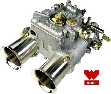 Horizontální karburátor Weber 48 DCOSP