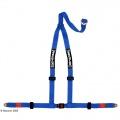Bezpečnostní pás Securon 3-bodový modrý, kotvící destičky