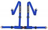 Bezpečnostní pás Securon 4-bodový modrý, kotvící háky