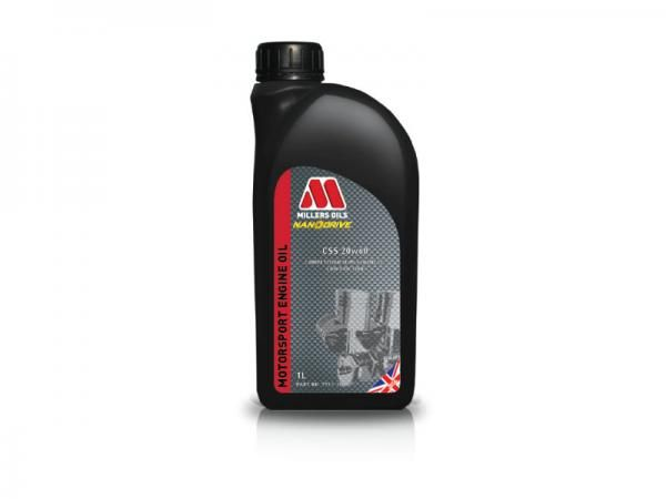 Závodní motorový olej Millers Oils Motorsport CSS 20w60 novinka 2017 - 1l - polosyntetický motorový olej