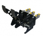 Pedálový box OBP Rally Kit Car - podlahové - 2 pedály - hydraul.