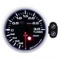 Přídavný budík Depo Racing Peak - tlak turba elektronický do 3bar