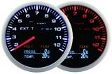 Přídavný budík Depo Racing WA 4in1 - EGT, voltmetr, tlak oleje, teplota oleje