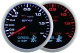 Přídavný budík Depo Racing WA 4in1 - tlak turba, voltmetr, tlak oleje, teplota oleje