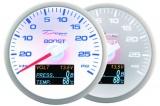Přídavný budík Depo Racing WBL 4in1 - tlak turba, voltmetr, tlak oleje, teplota oleje