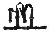 Bezpečnostní pás Pro Sport 3-bodový černý - 50mm