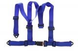 Bezpečnostní pás Pro Sport 3-bodový modrý - 50mm