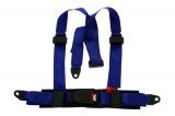 Bezpečnostní pás Pro Sport Monza 3-bodový modrý - 50mm (E)