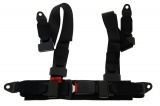 Bezpečnostní pás Pro Sport Monza 4-bodový černý - 50mm (E)
