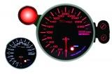 Přídavný budík Depo Racing 115mm - rychloměr s indikátorem max. rychlosti