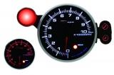 Přídavný budík Depo Racing 95mm - otáčkoměr se shift lightem - benzínové motory
